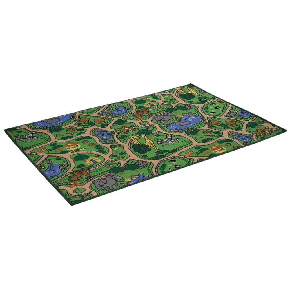 Коврик игровой Vortex Зоопарк, 100 х 150 см23009Игровой коврик поможет вашему ребенку в игровой форме познакомиться с обитателями зоопарка. Знания, полученные во время игры, помогут вашему ребенку самостоятельно ориентироваться в различных жизненных ситуациях, стать воспитанным, культурным и образованным человеком. Игровой коврик выполнен из нейлона, подложка - из латекса.