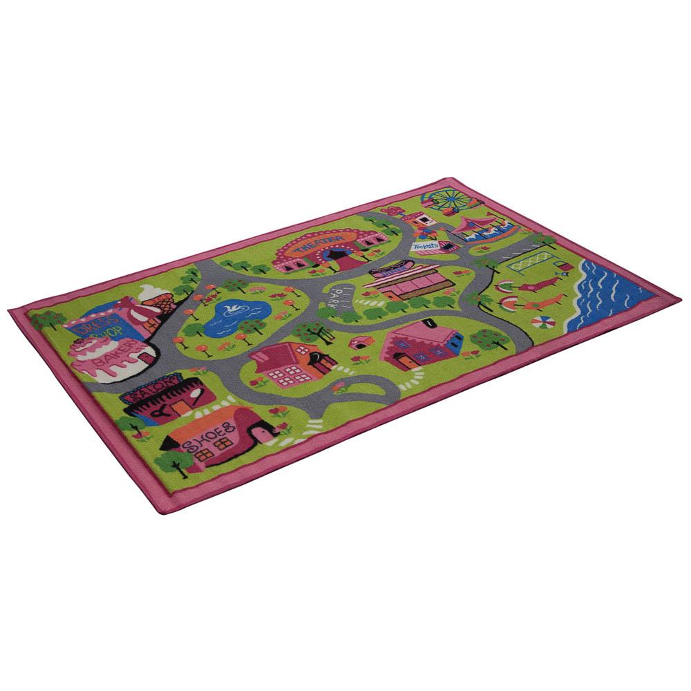 Коврик игровой Vortex Луна-Парк, 100 х 150 см23011Игровой коврик поможет вашему ребенку в игровой форме посетить луна-парк. Знания, полученные во время игры, помогут вашему ребенку самостоятельно ориентироваться в различных жизненных ситуациях, стать воспитанным, культурным и образованным человеком. Игровой коврик выполнен из нейлона, подложка - из латекса.