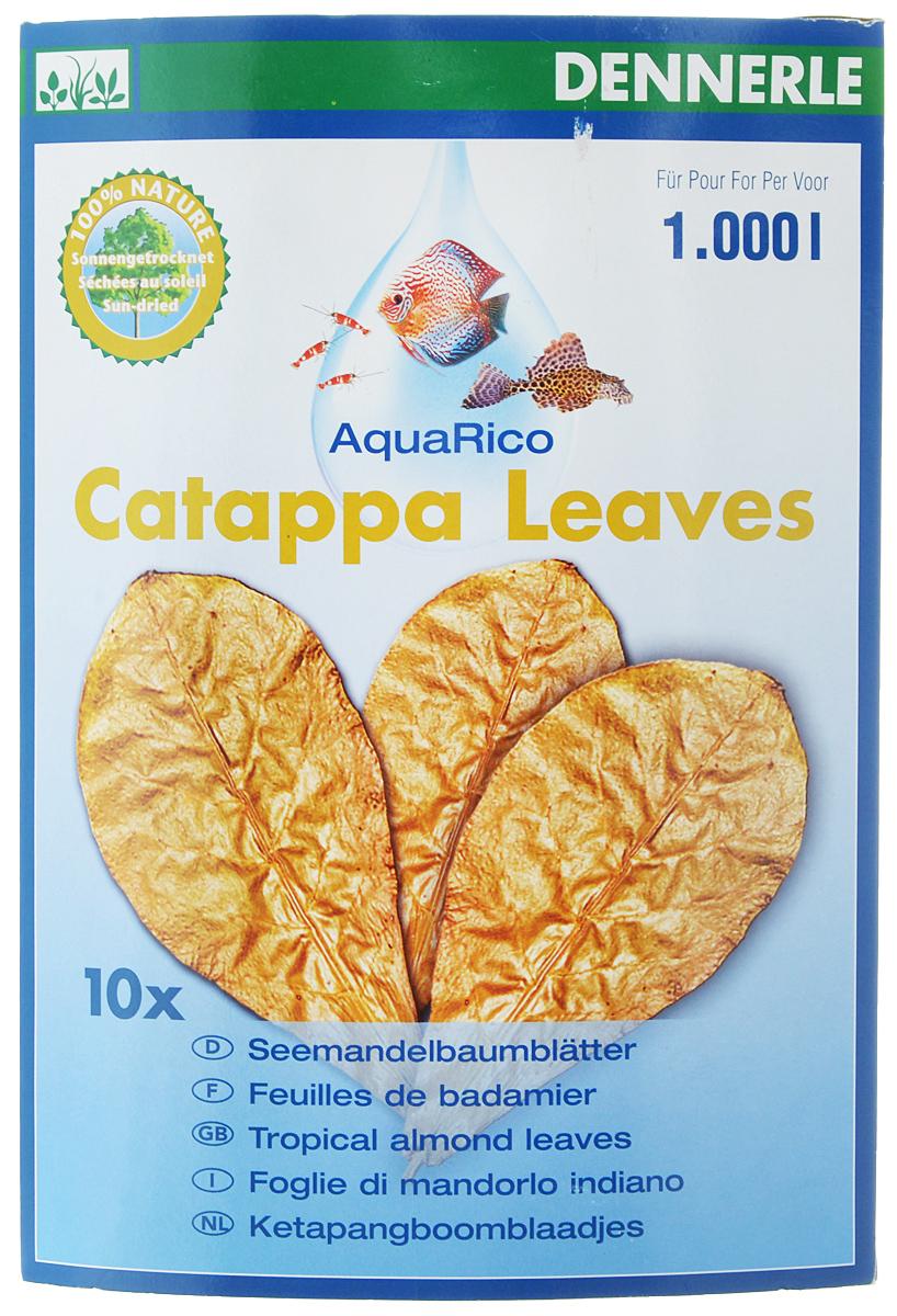 Листья миндального дерева Dennerle Catappa Leaves, 8 штDEN2744Листья индийского миндаля Dennerle Catappa Leaves - это высушенные спелые листья тропического индийского миндаля, которые содержат разнообразные активные натуральные вещества. В листьях содержится большое количество естественных полезных веществ, которые оказывают положительное воздействие на воду и на рыб. Сомы и креветки ценят листья как приятное лакомство. Добавляют в воду питательные вещества, к которым привыкли рыбы в естественной среде обитания. Поддерживают хорошее самочувствие, жизненную активность. Укрепляют и защищают слизистую оболочку, усиливают защитные силы организма. - Предотвращают грибковые заболевания икры и рыб. - Служат естественным украшением. - Способствуют хорошему самочувствию, обилию жизненных сил и нересту. - Природный очиститель воды для тропических аквариумов. - Здоровая кормовая добавка для лорикариевых сомов и креветок. Товар сертифицирован.Уважаемые клиенты! Обращаем ваше внимание на возможные изменения в дизайне упаковки. Качественные характеристики товара остаются неизменными. Поставка осуществляется в зависимости от наличия на складе.