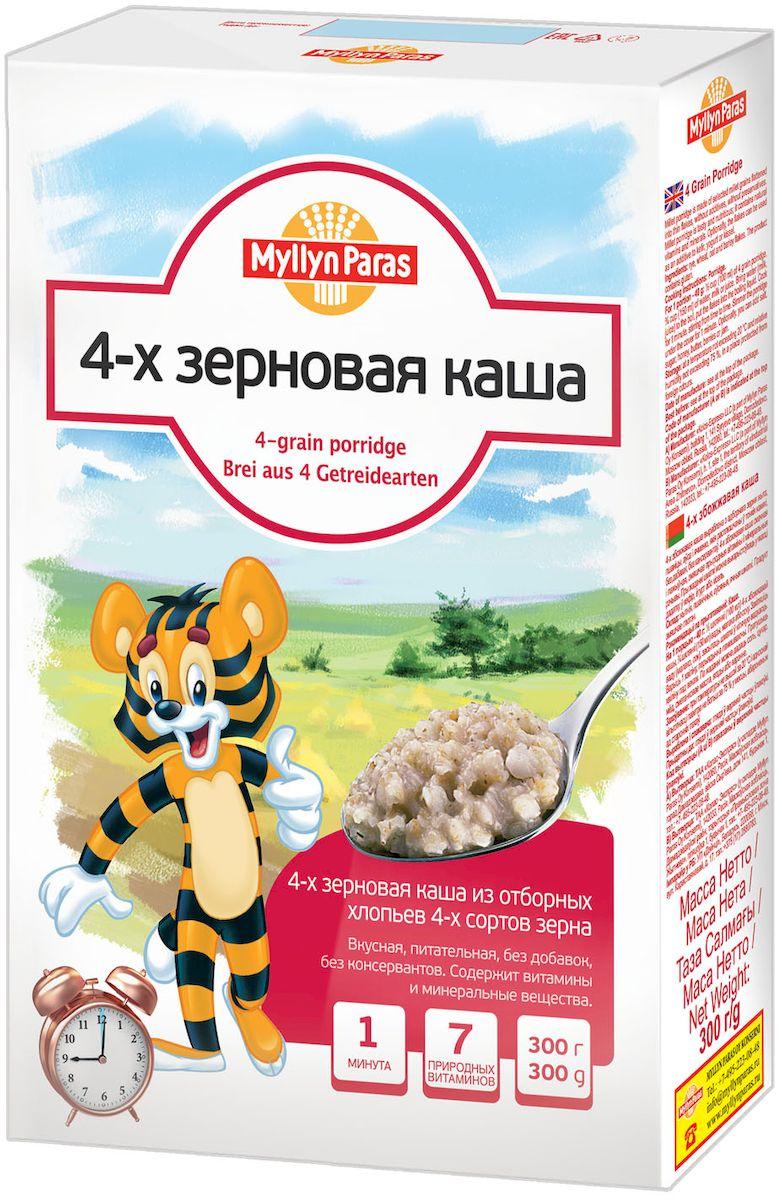 Myllyn Paras каша 4-х зерновая, 300 г минеральные добавки серии северянка в москве