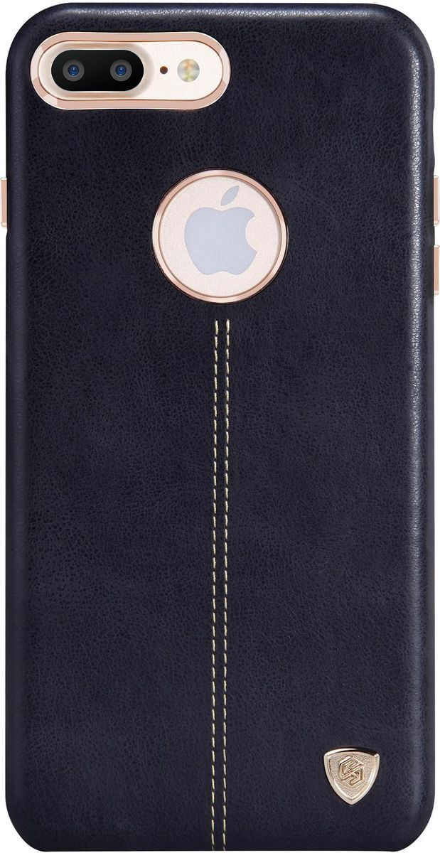 Nillkin Englon Leather Cover чехол для Apple iPhone 7 Plus/8 Plus, Black чехол флип кейс nillkin qin для apple iphone 7 plus коричневый