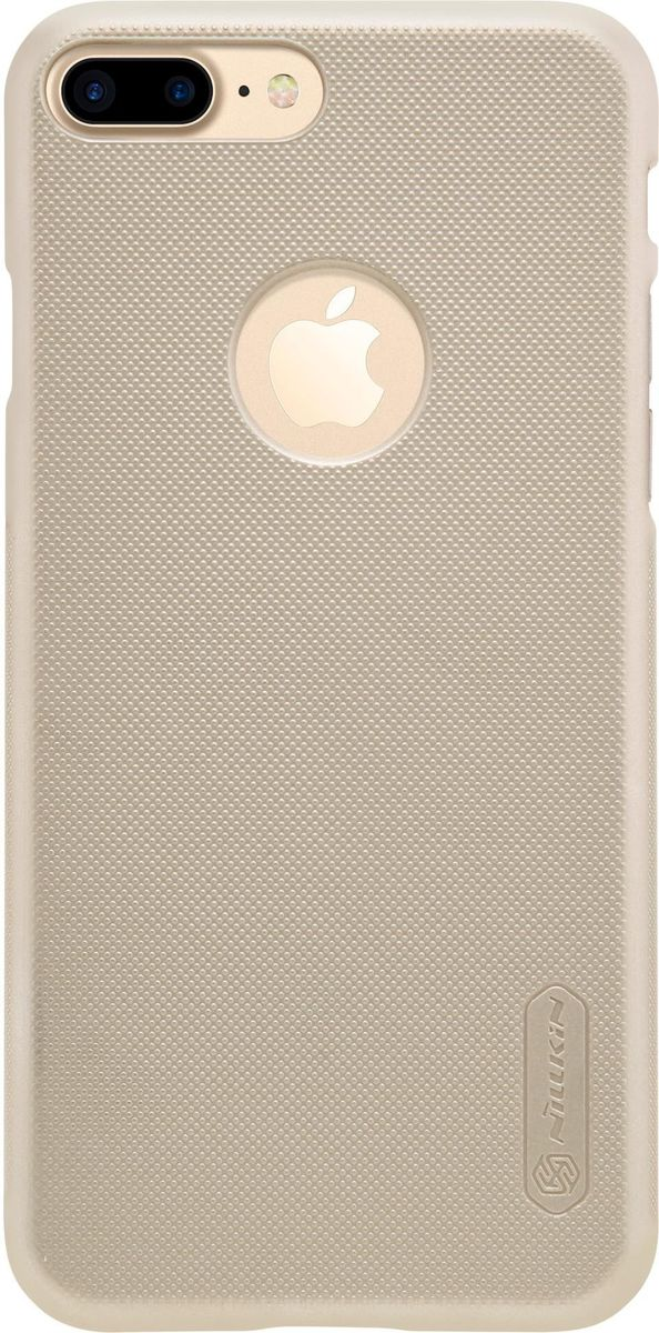Nillkin Super Frosted Shield чехол для Apple iPhone 7 Plus/8 Plus, Gold fierce tiger hard case cover for iphone 6s 6 4 7 inch