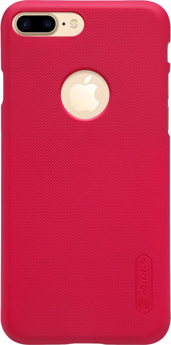 Nillkin Super Frosted Shield чехол для Apple iPhone 7 Plus/8 Plus, Red средство против грязи и воды solemate shield solemate