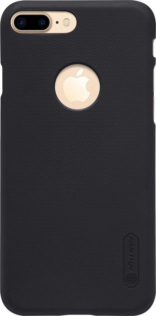 Nillkin Super Frosted Shield чехол для Apple iPhone 7 Plus/8 Plus, Black2000000100937Чехол Nillkin Super Frosted Shield для Apple iPhone 7 Plus разработан специально для данной модели телефона и обеспечивает доступ ко всем кнопкам и портам. Он надежно защищает ваш смартфон от внешних воздействий, грязи, пыли, брызг, также поможет при ударах и падениях, не позволив образоваться на корпусе царапинам и потертостям. Задняя сторонка чехла изготовлена из шершавого пластика, который не даст телефону выскользнуть из рук.