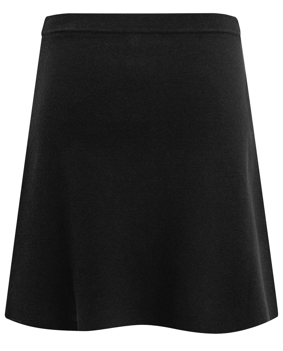 Юбка oodji Ultra, цвет: черный. 63612031/45850/2900N. Размер XS (42) пуловеры oodji пуловер