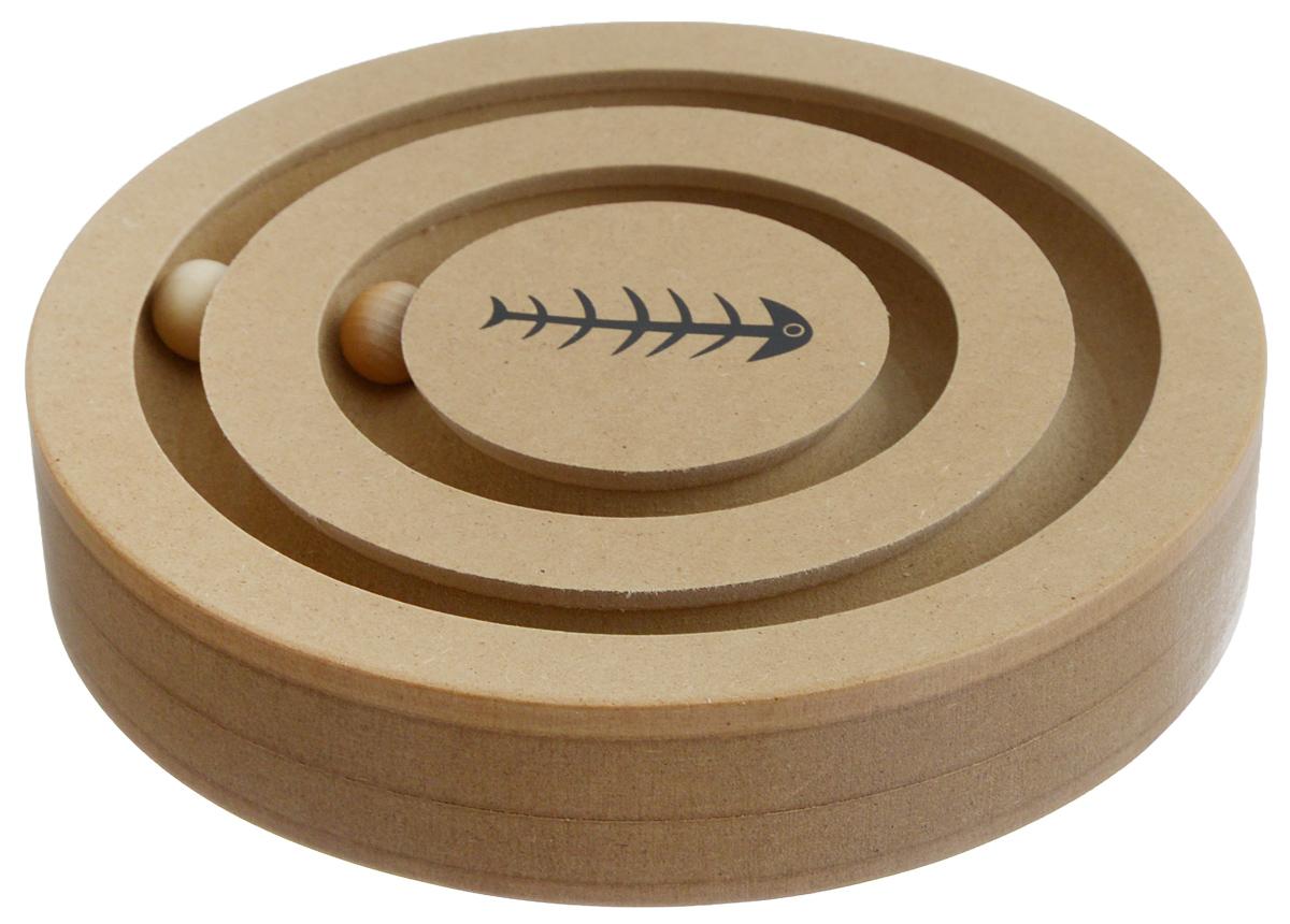 Игрушка для собак и кошек Triol, 2 в 1 игрушка головоломка для собак i p t s smarty 30x19x2 5см