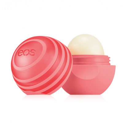 EOS Бальзам для губ Active Protection Lip Balm Pink Grapefruit, 7 г бальзамы hurraw бальзам для губ hurraw mint lip balm