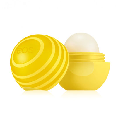 EOS Бальзам для губ Active Protection Lip Balm Lemon Twist, 7 г бальзамы hurraw бальзам для губ hurraw mint lip balm