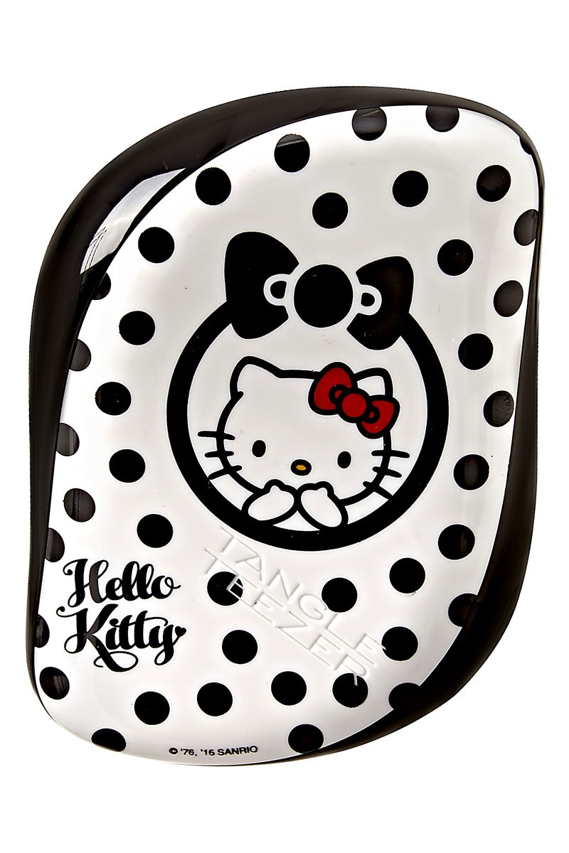 Tangle Teezer Расческа для волос Compact Styler Hello Kitty Black