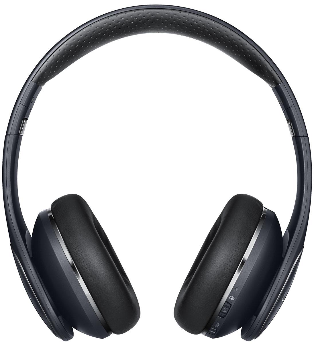 Samsung EO-PN920 Level On Pro, Black беспроводные наушникиEO-PN920CBEGRUНаслаждайтесь великолепным звуком ультравысокого качества c беспроводными наушниками Samsung Level OnPro, звуком, превосходящим даже качество Audio CD. Используя новый кодек UHQ-BT, эти наушники позволяют вамнасладиться более богатым и сбалансированным звучанием вашей любимой музыки.Samsung Level On Pro не только обеспечивают звук студийного качества, но и оснащены функцией активногошумоподавления (Active Noise Cancelation, ANC). Четыре встроенных микрофона, по два на каждом наушнике,гарантируют точное распределение звука.С помощью сенсорной панели наушников вы можете управлять самыми различными функциями, не пользуясь приэтом кнопками управления подключенного к Samsung Level On Pro устройства: регулировать громкость звука,управлять воспроизведением музыки, принимать и отклонять вызовы.Есть необходимость услышать, что происходит вокруг вас? Воспользуйтесь режимом Talk-in для получения звукаот одного из внешних микрофонов, которыми оснащены ваши наушники.Samsung Level On Pro также позволяют делиться вашими любимыми композициями с друзьями благодаряуникальной функции Sound With Me.