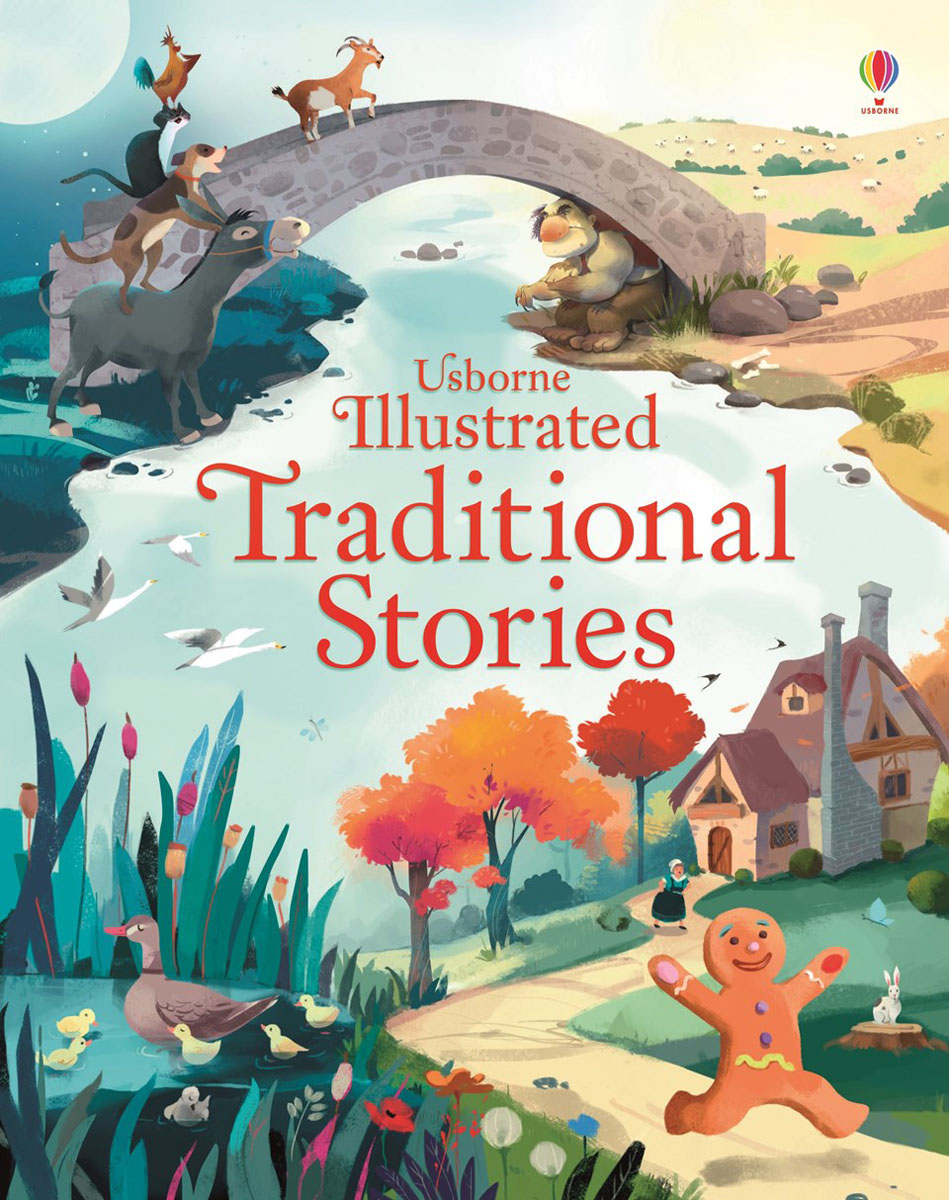 Illustrated traditional stories the gingerbread man