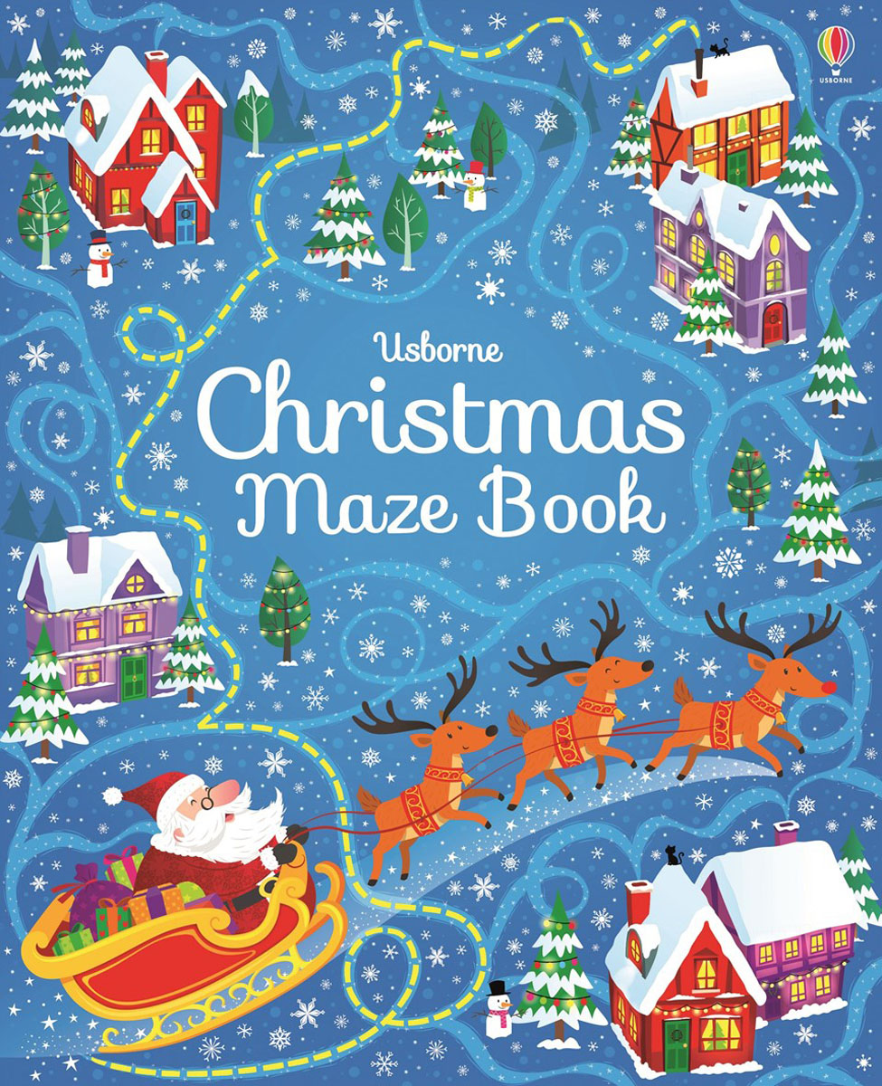 Christmas maze book wholdsale and retail luxury brass