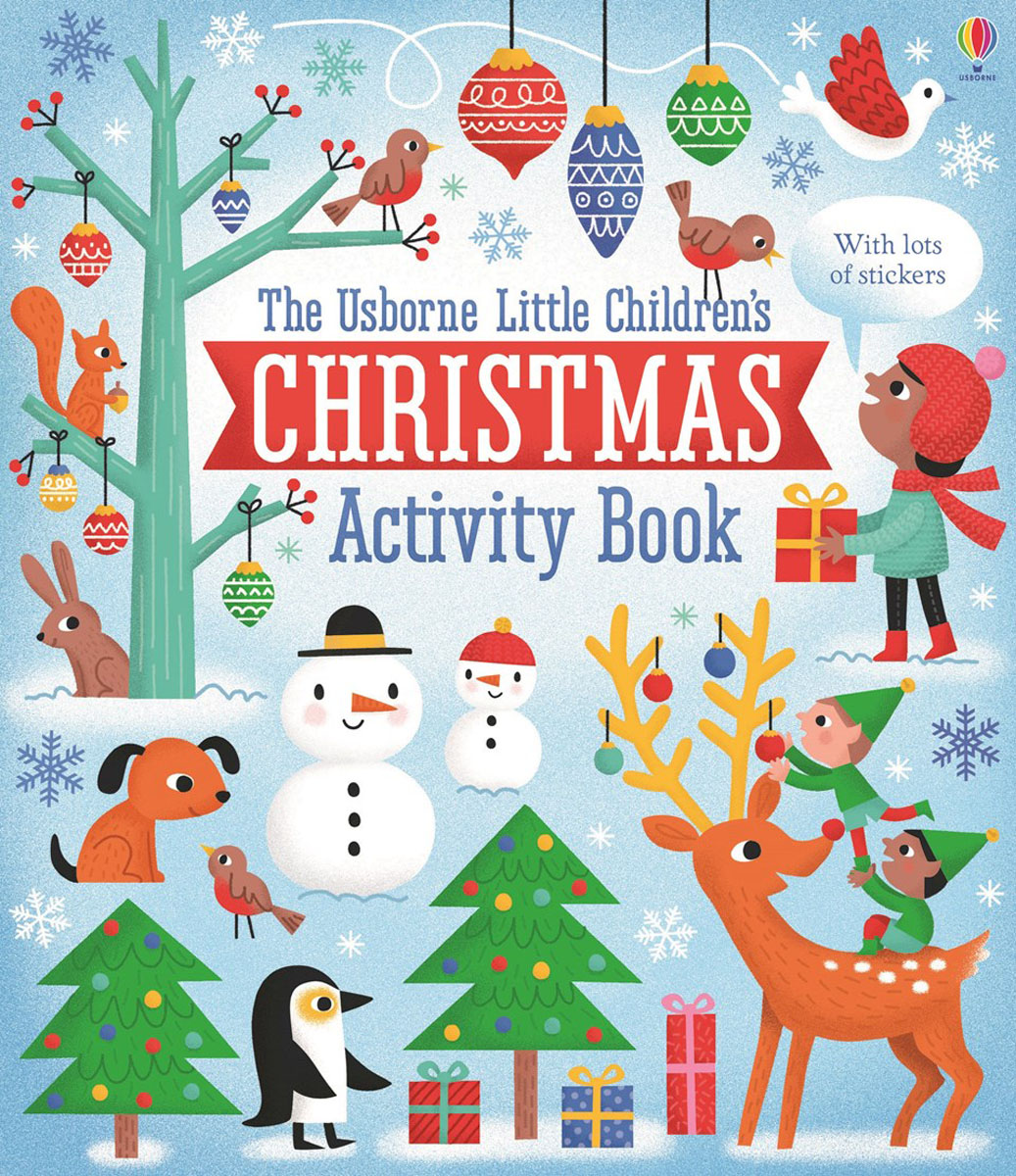 Little Children's Christmas: Activity Book