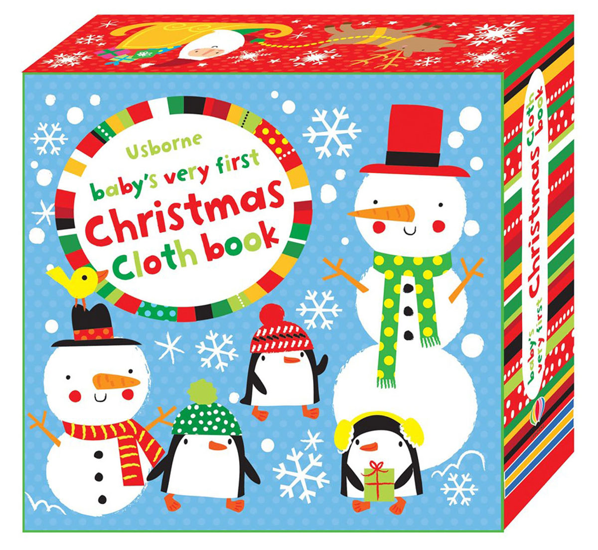 Baby's Very First: Christmas: Cloth Book santa first colouring book with stickers