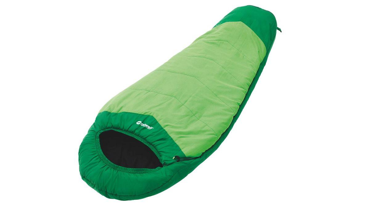 Спальный мешок Outwell Convertible Junior, цвет: зеленый, 160 х 70 х 55/190 х 70 х 50 см230151Спальный мешок Convertible Junior имеет уникальную коническую форму. Практичные родители, несомненно, оценят его по достоинству. Спальник можно увеличивать в длину от 140 до 170 см, что делает его несомненным фаворитом в течение долгого времени. Конструкция Convertible Junior выполнена таким образом, чтобы дети легко справлялись со своими мешками сами. Внешний материал выполнен из микрофибры, наполнитель Isofill.Индивидуальные особенности:- Возможность регулировки длины по мере роста ребенка;- Комфортный капюшон, чтобы держать голову и шею в тепле;- Уникальная коническая форма, с дополнительным пространством для ног;- Защита молнии для тепла на полную длину;- Внутренний карман для небольших вещей;- Компрессионный мешок;- Защита от заедания молнии.