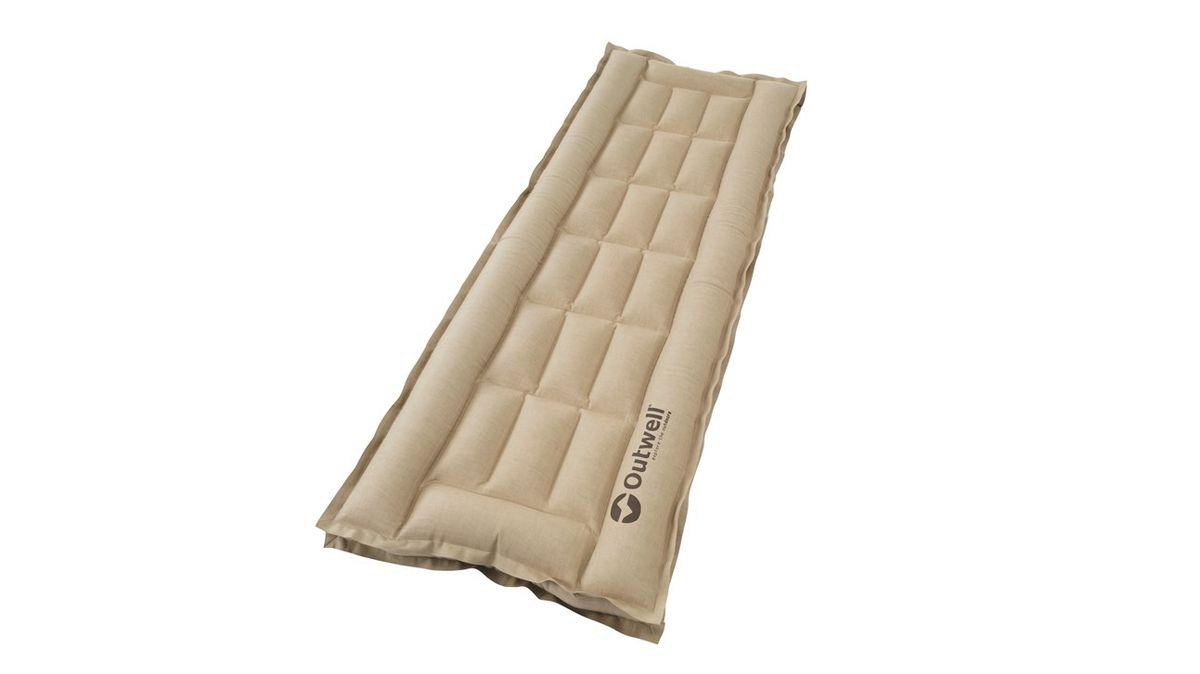 Кровать надувная Outwell Airbed Box Single, цвет: серый, 195 х 65 х 10 см290057Популярные надувные кровати Airbed box обеспечивают классический комфорт для кемпинга. Линия Airbed Box выполнена из надежной, нескользящей хлопчатобумажной ткани. Конструкция кровати гарантирует туристам сон высоко от холодной земли. Особенности:- особо прочный материал выдерживает большие нагрузки- простой в использовании клапан- прочная и стабильная конструкция