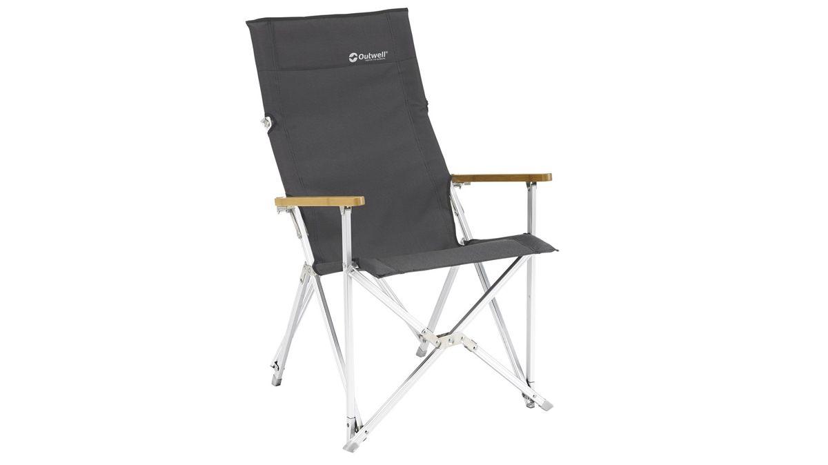 Кресло складное Outwell Duncan, цвет: серый, 55 х 66 х 92 см64772Компактное складное кресло Outwell Duncan идеально подходит для любителей отдыха на природе, ищущих стильный современный дизайн, комфорт и прочные материалы в специализированной коллекции кресел Duncan Chair.