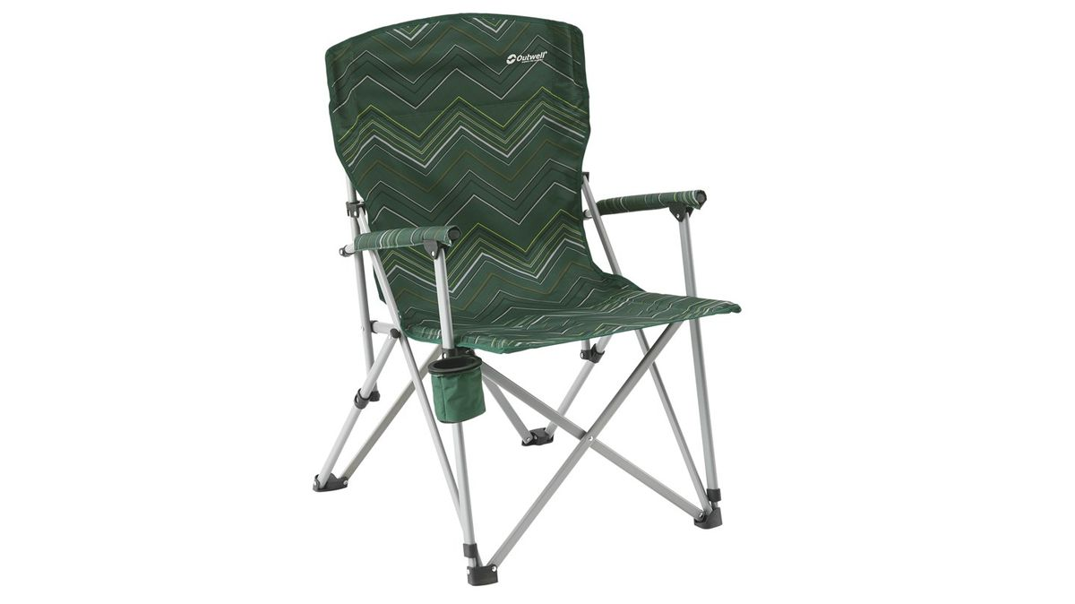 Кресло складное Outwell Spring Hills, цвет: зеленый, 65 х 70 х 97 см