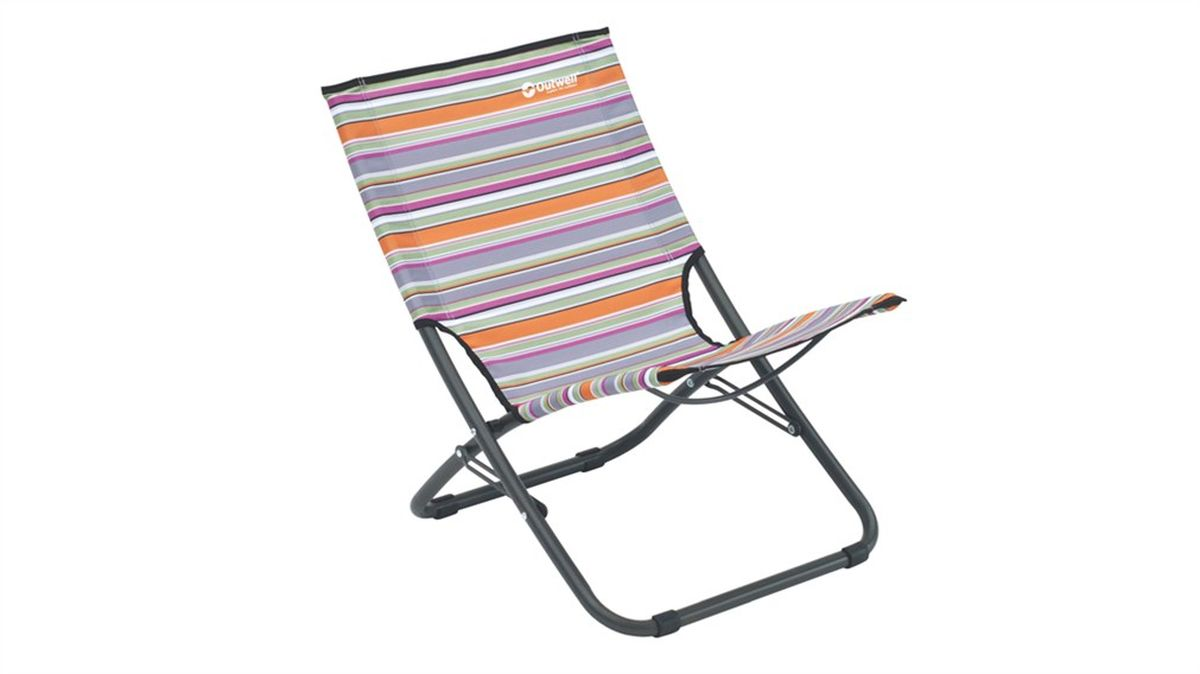 Кресло складное Outwell Rawson Summer, цвет: серый, белый, оранжевый, 60 х 42 х 60 см470203Кресло складное Outwell Rawson Summer имеет изящный дизайн со стильным рисунком ткани в современных цветах. Каркас из высокопрочной стали и высококачественный износостойкий полиэстер являются основой надежной эксплуатации изделия. На ножках имеются пластиковые накладки, не царапающие поверхность.