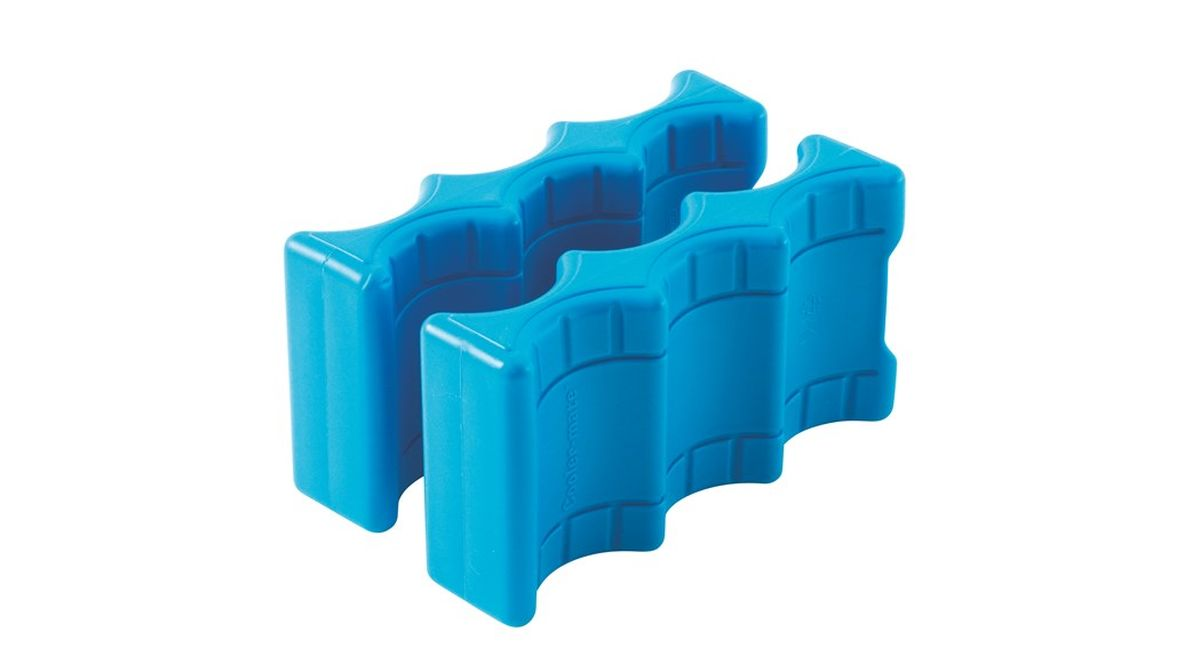 Аккумулятор холода Outwell Ice Block Can, цвет: синий, 600 мл, 2 шт аккумулятор холода ezetil ice akku g 430