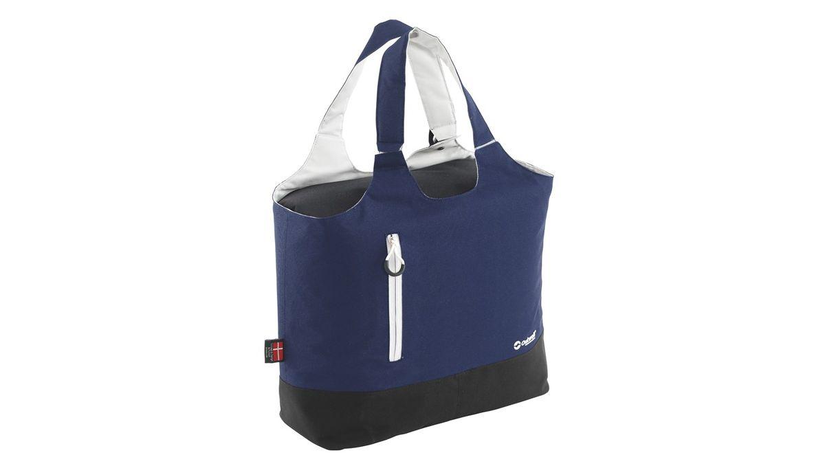 Сумка изотермическая Outwell Puffin, цвет: синий, 22 л590078Изотермическая сумка Outwell Puffin поможет сохранить температуру пищи и напитков в течение нескольких часов. Она будет удобна при поездках на дачу, на пикник и дальних путешествиях. Выполнено изделие из прочного полиэстера, внутри материал PEVA lining. В сумке предусмотрен наружный передний карман для мелких предметов, а ручки для переноски можно использовать как лямку. Особенности: объем сумки 22 л, объем холодильного отделения 19 л;две ручки для переноски;внешний карман на молнии.