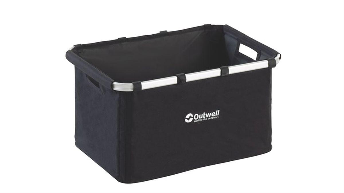 Корзина складная Outwell Folding Storage Basket, цвет: черный590382Корзина складная Outwell Folding Storage Basket- оригинальное и простое решение для кемпинга.