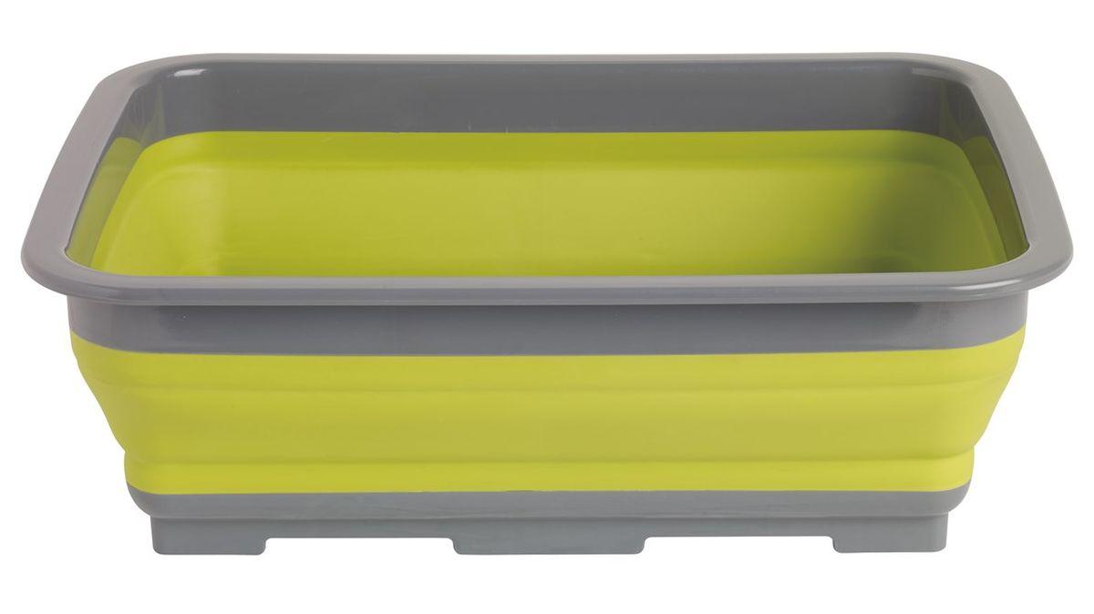 Корыто Outwell Collaps Washing Bowl, цвет: зеленый650116Складное корыто Outwell Collaps Washing Bowl очень удобно в применении при выезде на природу. Его главное преимущество - возможность складывания. В сложенном виде оно практически плоское, поэтому не займет много места при хранении, экономя пространство для других вещей. Корыту не страшны удары, поэтому можно не бояться повредить его. Изделие выполнено из силикона и пластика. Эти материалы полностью безопасны.