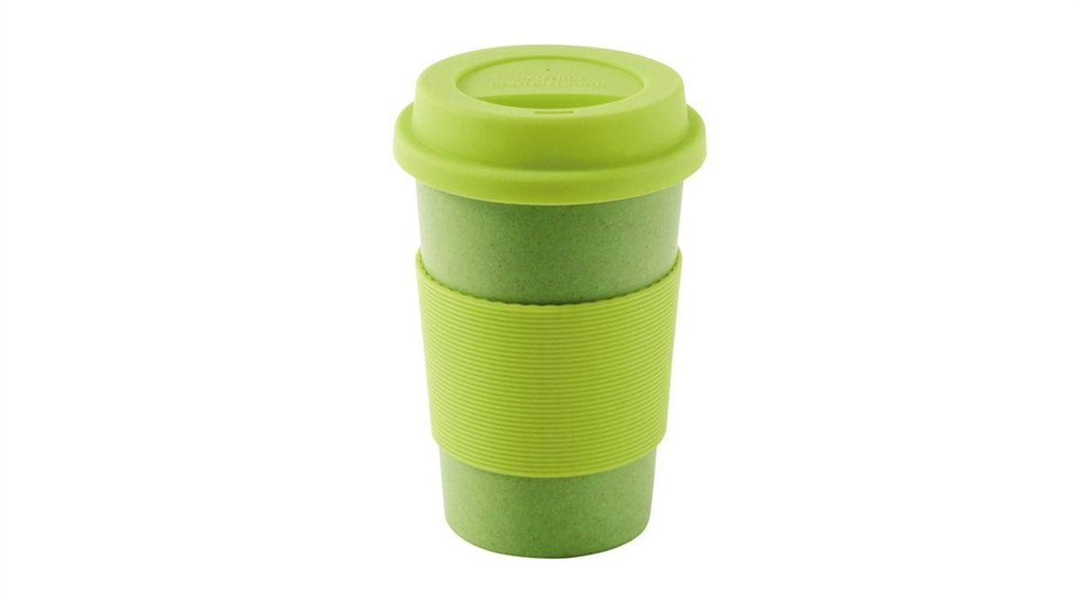 Кружка Outwell Bamboo Cup, цвет: зеленый, 300 мл650403Кружка с крышкой Outwell Bamboo Cup изготовлена из высококачественного биоразлагаемого бамбука. Кружка имеет термонепроницаемую силиконовую крышку и термоободок, защищающий руки от ожогов во время эксплуатации посуды. Посуда из бамбука экологична, обладает высокими гигиеническими свойствами. Кружка легкая, разбить ее гораздо сложнее, чем стеклянную.