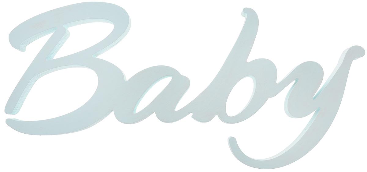 Табличка декоративная Magellanno Baby, цвет: бирюзовый, 48 х 21 см ломазофф а всемирная история войн с древнейших времен до наших дней