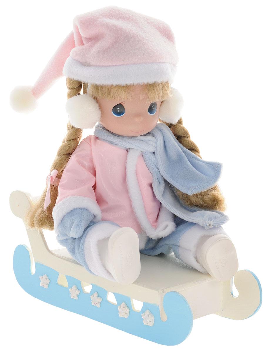 Precious Moments Кукла на санках куклы и одежда для кукол precious кукла мой принц придет 30 см