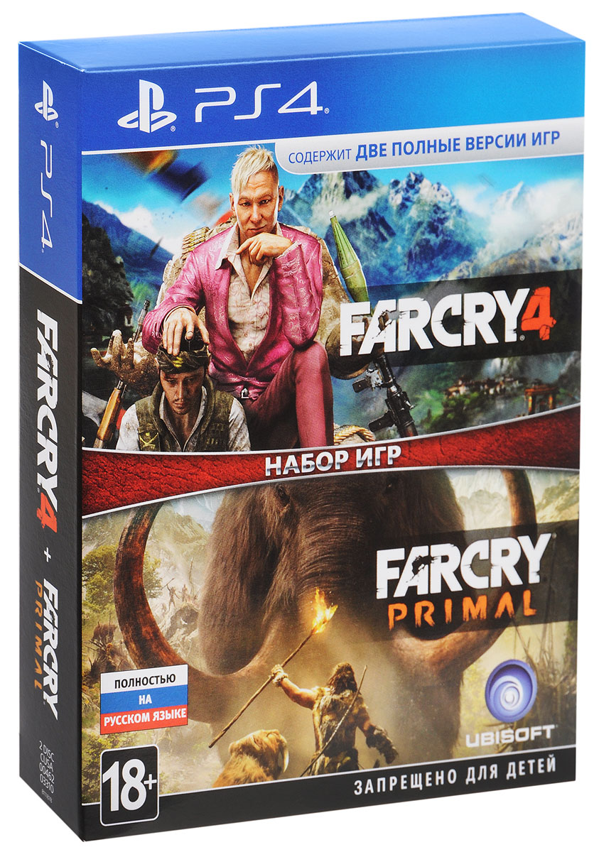 Zakazat.ru Far Cry 4 + Far Cry Primal (PS4)