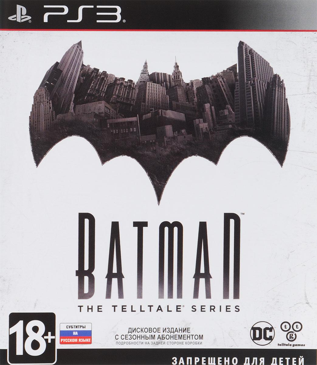Batman: The Telltale Series (PS3) игра для xbox batman the telltale series