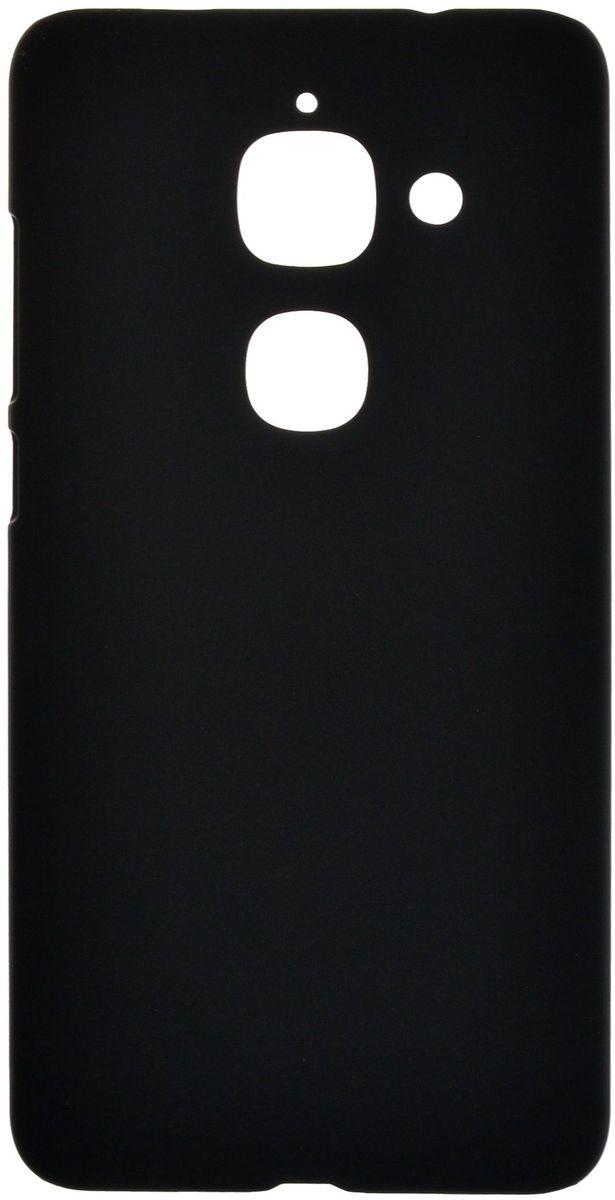 SkinBox 4People чехол для LeEco Le Max 2, Black + защитная пленка skinbox defender case чехол накладка для leeco le 2 pro black