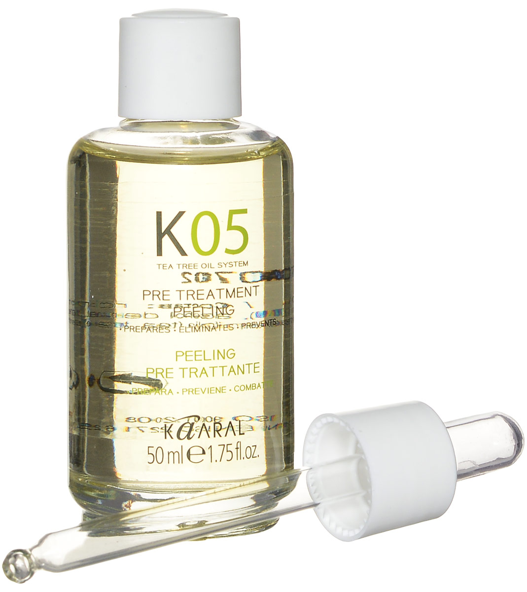 Kaaral Капли для подготовки к процедурам К05 Gocce Pre-Treatment, 50 мл kaaral к05 shampoo seboequilibrante шампунь для восстановления баланса секреции сальных желез 250 мл