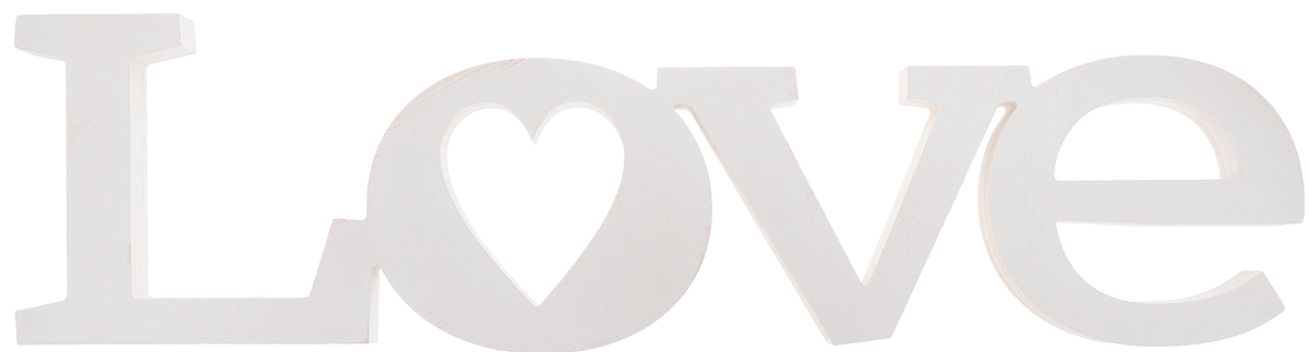 Табличка декоративная Magellanno Love2, цвет: белый, 56 х 15 смDEC002WДекоративная табличка Magellanno Love2,выполненная из фанеры, идеальноподойдет к интерьерам в стиле лофт, прованс, кантри, темсамым украсив любую комнату в вашем доме.А также табличка Оранжевый Слоник Love2 способна дополнить вашу фотосессию в день свадьбы и не только, придав ей оригинальности и смысла.Изделие ручной работы.Размер таблички: 56 х 15 см.Толщина таблички: 1,8 см.