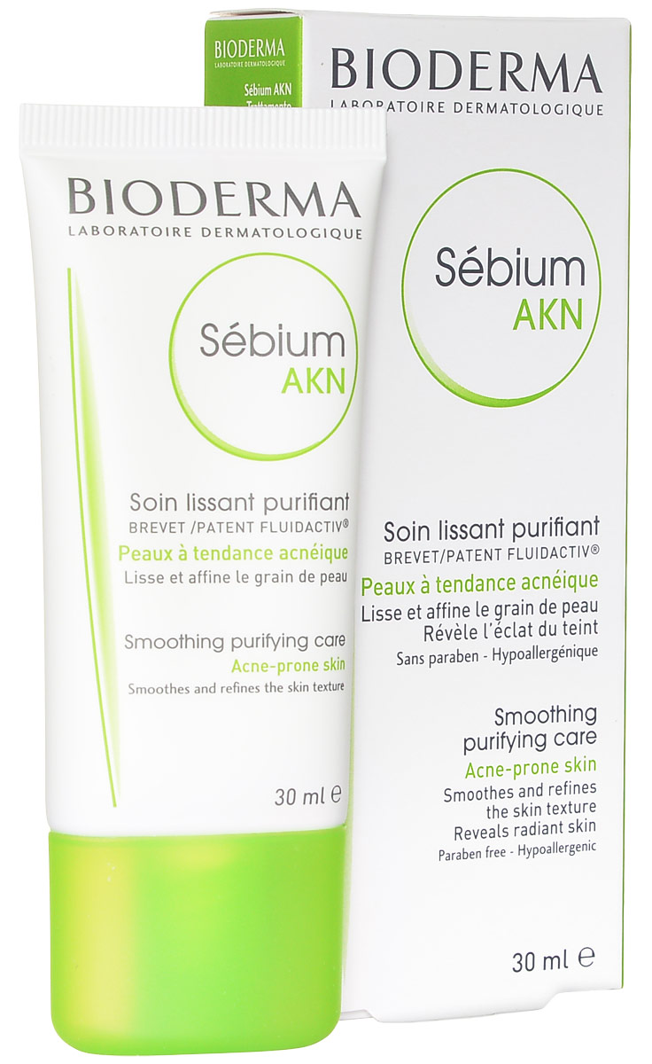 Bioderma Эмульсия Sebium AKN для жирной кожи, 30 мл отзывы bioderma sebium h2o