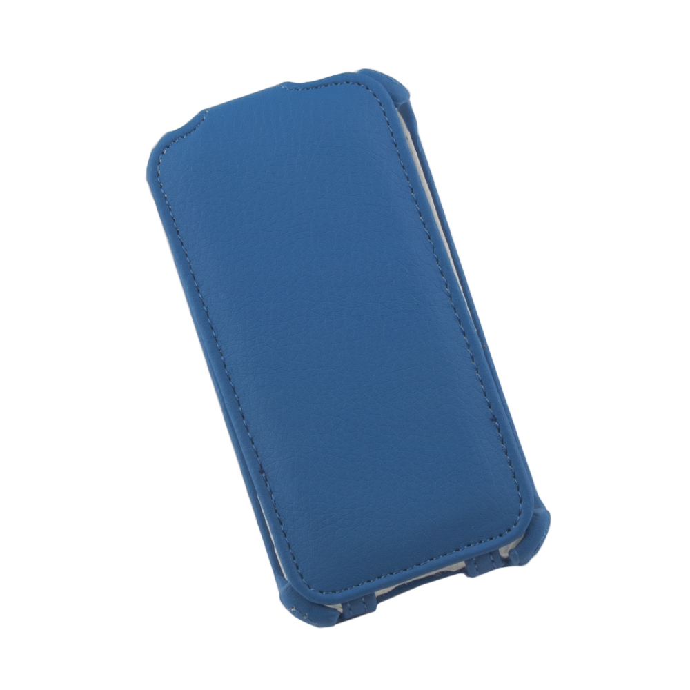 Liberty Project чехол-флип для Apple iPhone 4/4S, Blue защитные стекла liberty project защитное стекло lp для nokia 630 tempered glass 0 33 мм 9h ударопрочное