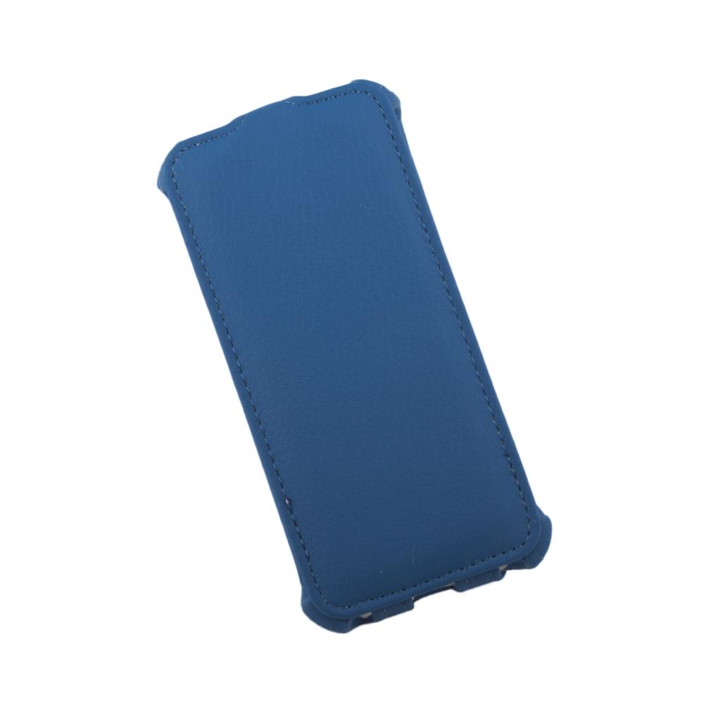 Liberty Project чехол-флип для Apple iPhone 5/5s, Blue стоимость