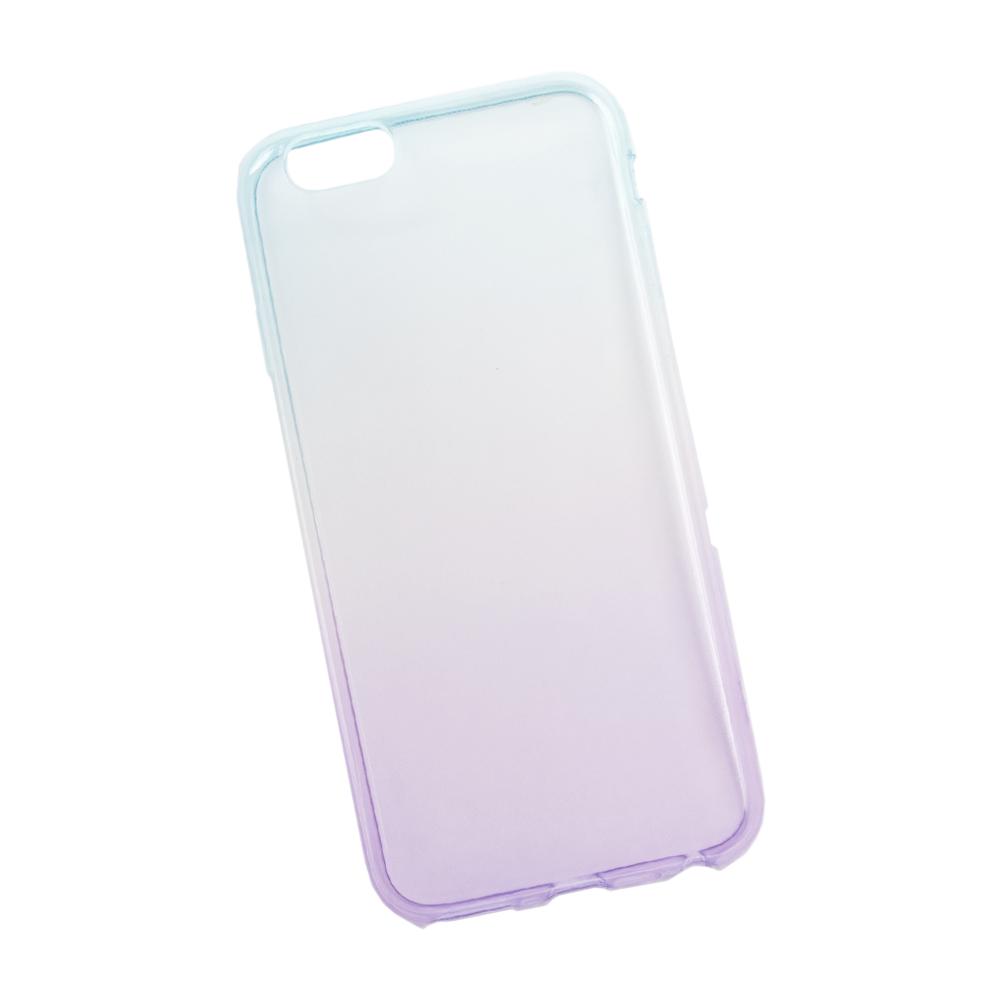 Liberty Project чехол для Apple iPhone 6/6s, Purple Blue0L-00027303Чехол Liberty Project для Apple iPhone 6/6s надежно защищает ваш смартфон от внешних воздействий, грязи, пыли, брызг. Он также поможет при ударах и падениях, не позволив образоваться на корпусе царапинам и потертостям. Чехол обеспечивает свободный доступ ко всем разъемам и кнопкам устройства.
