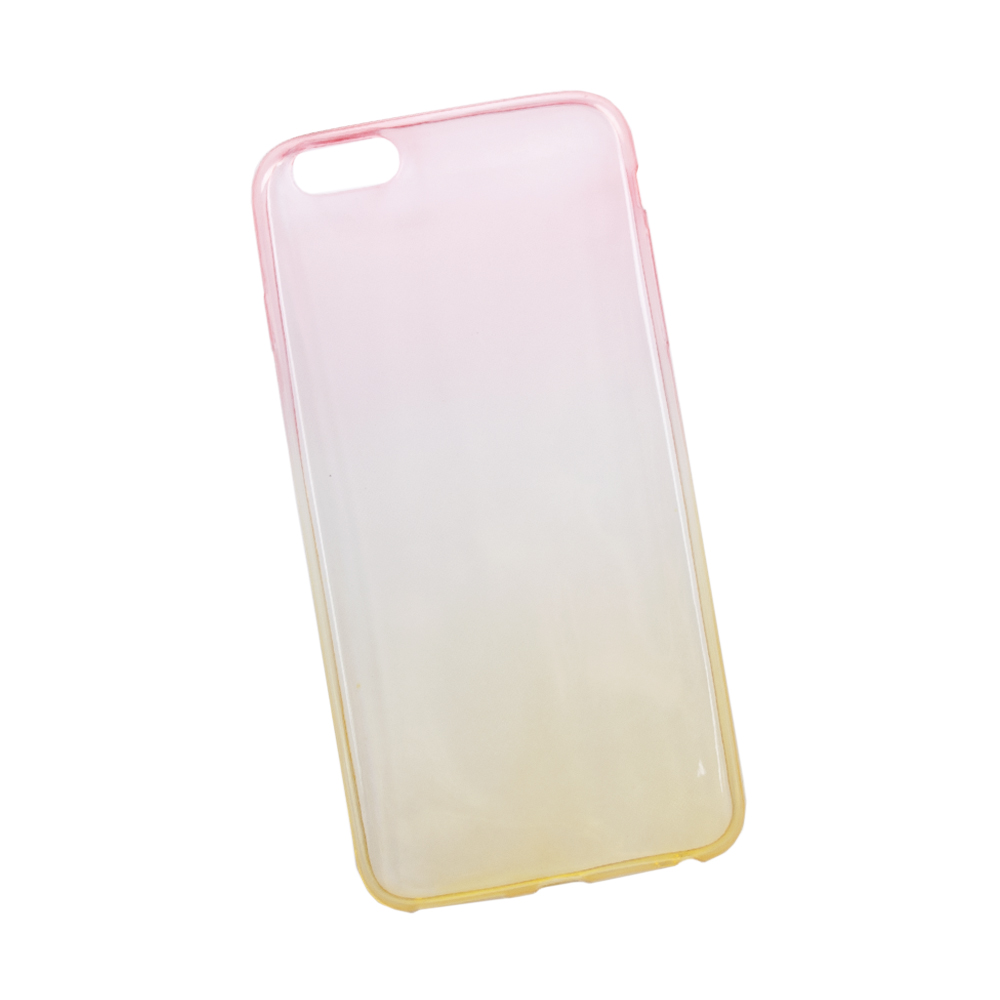 Liberty Project чехол для Apple iPhone 6 Plus/6s Plus, Yellow Pink цена и фото