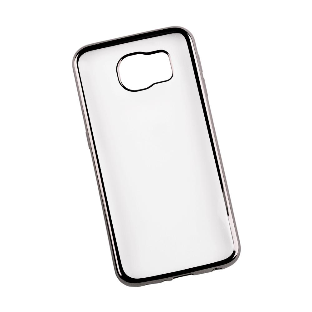 Liberty Project чехол для Samsung Galaxy S6, Clear Black0L-00027364Чехол Liberty Project для Samsung Galaxy S6 надежно защищает ваш смартфон от внешних воздействий, грязи, пыли, брызг. Он также поможет при ударах и падениях, не позволив образоваться на корпусе царапинам и потертостям. Чехол обеспечивает свободный доступ ко всем разъемам и кнопкам устройства.