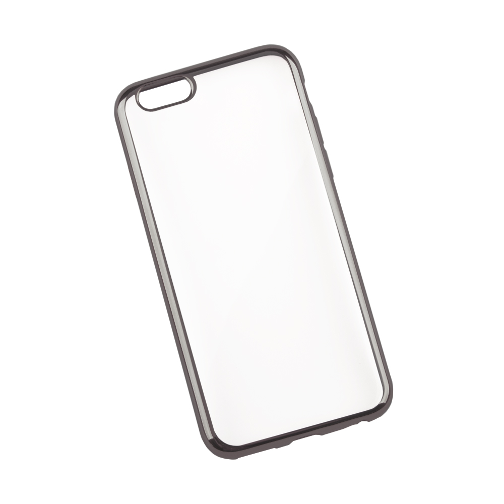 Liberty Project чехол для Apple iPhone 6/6s, Clear Black0L-00027376Чехол Liberty Project для Apple iPhone 6/6s надежно защищает ваш смартфон от внешних воздействий, грязи, пыли, брызг. Он также поможет при ударах и падениях, не позволив образоваться на корпусе царапинам и потертостям. Чехол обеспечивает свободный доступ ко всем разъемам и кнопкам устройства.