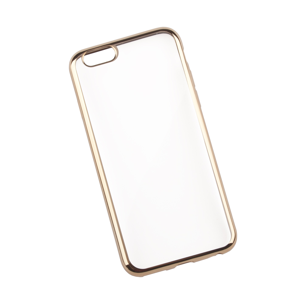 Liberty Project чехол для Apple iPhone 6/6s, Clear Gold