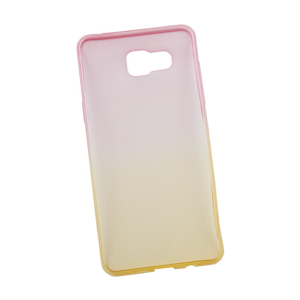 Liberty Project чехол для Samsung Galaxy A5 2016, Yellow Pink0L-00027391Чехол Liberty Project для Samsung Galaxy A5 (2016) надежно защищает ваш смартфон от внешних воздействий, грязи, пыли, брызг. Он также поможет при ударах и падениях, не позволив образоваться на корпусе царапинам и потертостям. Чехол обеспечивает свободный доступ ко всем разъемам и кнопкам устройства.
