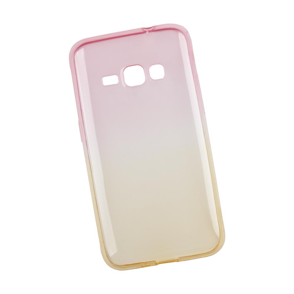 Liberty Project чехол для Samsung Galaxy J1 2016, Yellow Pink0L-00027395Чехол Liberty Project для Samsung Galaxy J1 (2016) надежно защищает ваш смартфон от внешних воздействий, грязи, пыли, брызг. Он также поможет при ударах и падениях, не позволив образоваться на корпусе царапинам и потертостям. Чехол обеспечивает свободный доступ ко всем разъемам и кнопкам устройства.