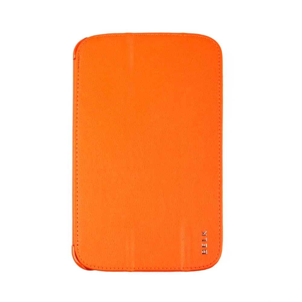 Belk чехол для Samsung Galaxy Tab 3 7.0, OrangeR0000332Чехол Belk для Samsung Galaxy Tab 3 7.0 надежно защищает ваш планшет от внешних воздействий, грязи, пыли, брызг. Он также поможет при ударах и падениях, не позволив образоваться на корпусе царапинам и потертостям. Чехол обеспечивает свободный доступ ко всем разъемам и кнопкам устройства.
