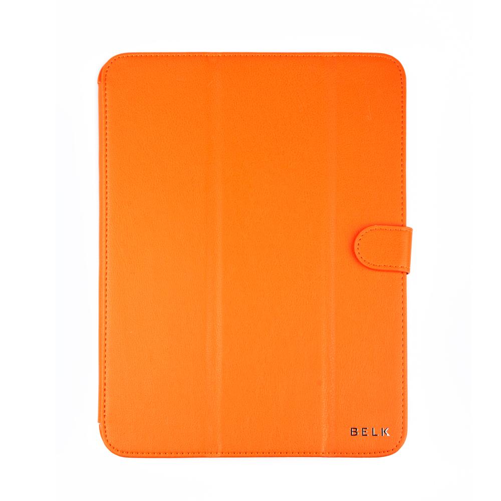 Belk чехол для Samsung Galaxy Tab 3 10.1, OrangeR0000340Чехол Belk для Samsung Galaxy Tab 3 10.1 надежно защищает ваш планшет от внешних воздействий, грязи, пыли, брызг. Он также поможет при ударах и падениях, не позволив образоваться на корпусе царапинам и потертостям. Чехол обеспечивает свободный доступ ко всем разъемам и кнопкам устройства.