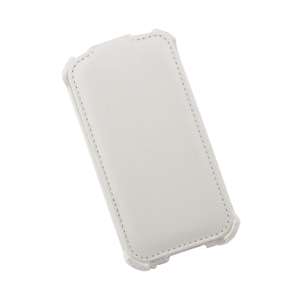 Liberty Project чехол-флип для Apple iPhone 4/4S, White