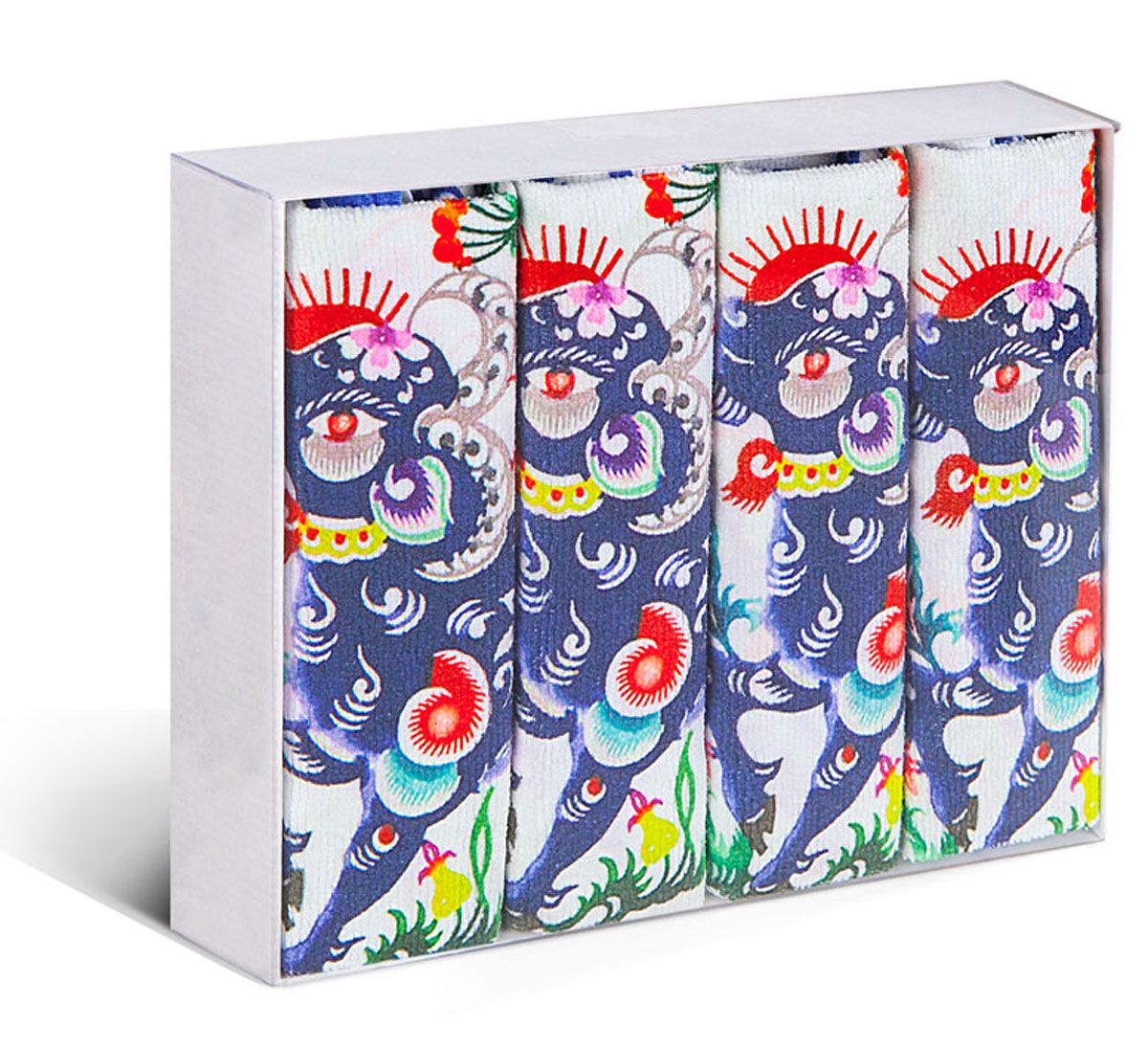 Набор кухонных полотенец Soavita, цвет: синий, белый, 38 х 64 см, 4 шт78931Набор Soavita состоит из 4 вафельных полотенец. Изделия выполнены из микрофибры и оформлены яркими, оригинальными вышивками. Полотенца используются для протирки различных поверхностей, также широко применяются в быту.Такой набор станет отличным вариантом для практичной и современной хозяйки.Перед использованием постирать при температуре не выше 40 градусов.