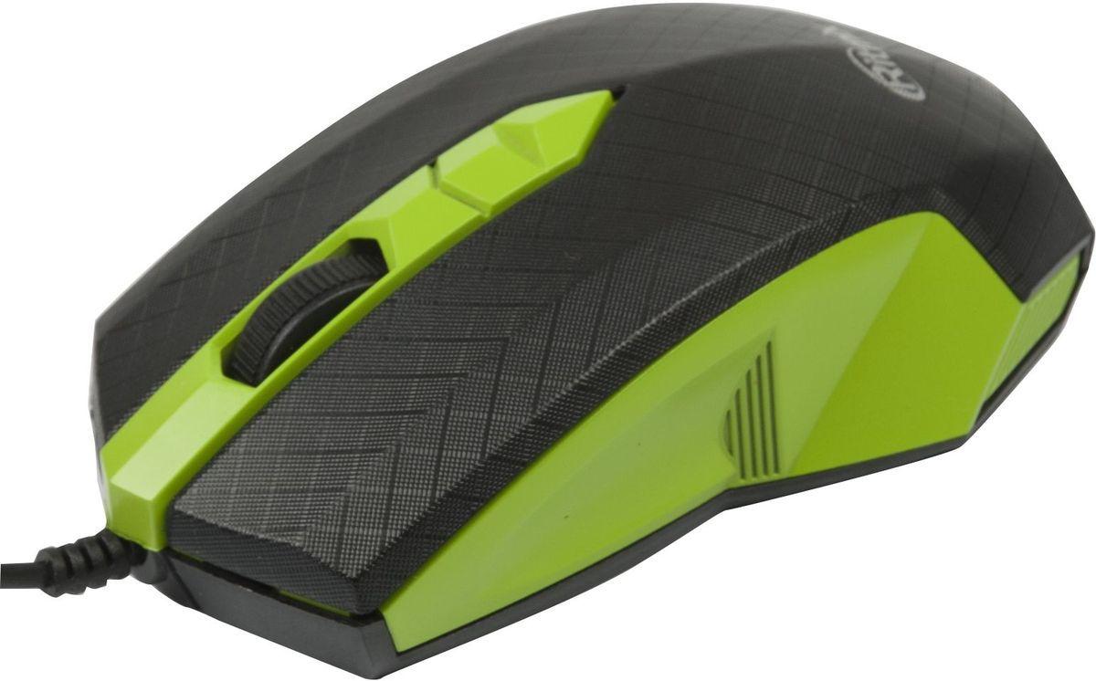 Ritmix ROM-202, Green мышь